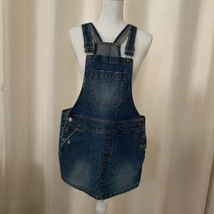 Hollister Overall Denim Dress